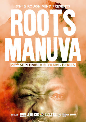SLEAZE + Exclusive-Show Roots Manuva