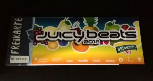 SLEAZE + Saft-Bar Juicy Beats 2018